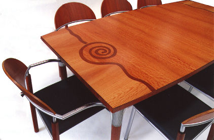 Table by Glen Holst